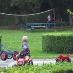 Speelveld voor jong en oud.